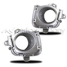 2010-2012 Toyota Prius Fog Lights Bumper Driving Lamps Bezel Pair