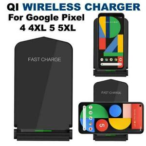 Qi Wireless Fast Charger Stand Dock For Google Pixel 4 4XL Google Pixel 5 5XL