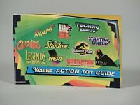 Kenner Action Toy Guide from 1992 - Batman, Jurassic Park and more
