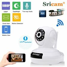 Wireless 1080P HD WIFI IP Camera CCTV Home Security Night Vision P2P PTZ TF NEW