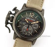 Graham Chronofighter Vintage Aircraft Ltd Black Dial 2CVAV.B18A Mens Watch