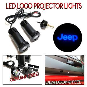 Lumenz C3 LED Courtesy Logo Lights Ghost Shadow JEEP 100646 Blue