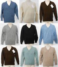 Jerséis y cárdigan de hombre verde 100% lana