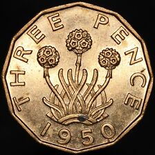 More details for 1950 | george vi threepence | nickel-brass | coins | km coins