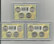 2003-06 P&D Complete Westward Journey 12 Nickel Set in B. U. Condition