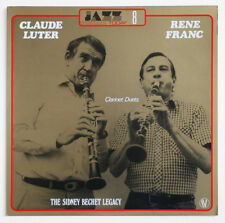 CLAUDE LUTER & RENE FRANC Sydney Bechet legacy clarinet jazz french 502608 LP