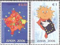 Kosovo (UN-verwaltung) 43-44 (kompl.Ausg.) postfrisch 2006 Europa: Integration
