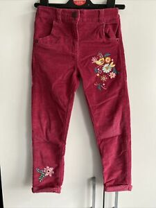 Girls TU Cord Corduroy Trousers Jeans 5-6 Years