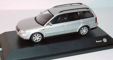 VW PASSAT B5 3BG SPORT V6 2.8 4-MOTION ESTATE SILVER 1:43 SCHUCO (DEALER MODEL)