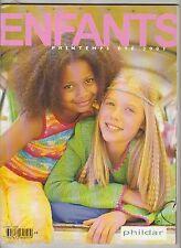 CATALOGUE TRICOT Phildar Créations enfants N°384 Printemps été 2003