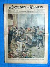 La Domenica del Corriere 6 novembre 1921 Mosca - Inghilterra - Don Sturzo