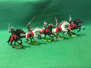 Civil War Southern Cavalry -1/32 Scale- Plastic Figures