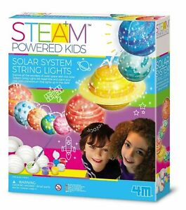 STEAM Powered Kids - Solar System String Lights - 5+ years - Brand New Sealed