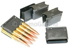 (5 ea) 8 Round Clips for M1 Garand Enbloc New Us 8Rd Rd 30-06 Clip