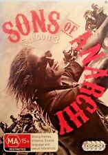 SONS OF ANARCHY SEASON 3 DVD 4 DISC SET FREE POST IN AUSTRALIA