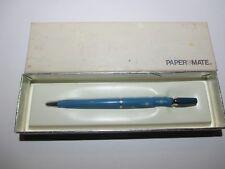 RARE PAPER MATE LADY PETITE BALLPOINT BLUE STARLIGHT DESIGN NOS  MIP 1960'S