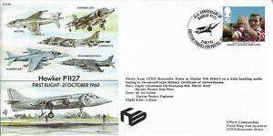 GB 1995 Harrier T10 Flown Hawker P1127 First Flight October 1960 BFPS Pict.