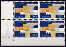 CEPT 1963/ Liechtenstein MiNr 431 ** Viererblock