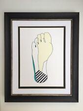 Art Print Foot Dermatomes Gift Podiatrist Size A5 Matt Paper