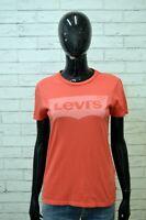 LEVI'S Polo Maglia Donna Taglia XS Camicia Maglietta Shirt Women Jersey Frau