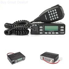 Mobile Ham Vehicle 2 Way Radio Transceivers For Bus Taxi Car UHF VHF With Mic