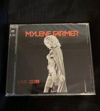 Mylene FARMER LIVE 2019 Boitier Plastique Cd scellé Rare Concert  NoPromo