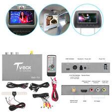 HD DVB-T2 TV Receiver Box Tuner Dual Antenna Car Mobile Digital US UK Greece etc