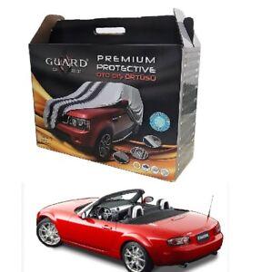 Fit For Mazda MX-5 Miata Indoor Outdoor Guard Cover Fleece Premium Car Cover
