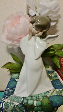 "LLADRO #4959 ""MIME ANGEL"" MIMICO GLAZED GOOD CONDITION NO BOX OR PAPERS"