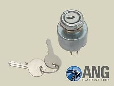 AUSTIN, LEYLAND MINI 850,1000 >'70 DASH MOUNTED IGNITION SWITCH, BARREL & 2 KEYS