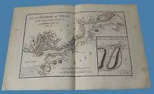 Plan du Bosphore de Thrace Particulier de Byzance Ancienne Grece Anacarsi 1788