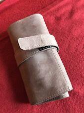 Watch holder for 6 pcs., handmade in nabuk italian leather, ètui ledertasche