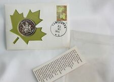 1871-1971 British Columbia First Day of Issue Silver Dollar & 6c Stamp Canada