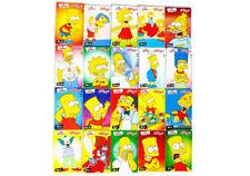 Set completo I Simpsons-tutti 20 carte Kellogg/'s Kelloggs Sticker CARDS NEW!