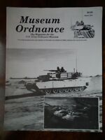 Museum Ordnance; Magazine for US Army Ordnance Museum - March 1992 *GOOD*