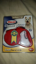 NEW FLEXI SMALL DOG Retractable Leash 26 LBS 16FT Best Seller German Germany