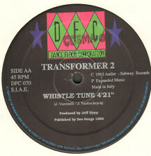 TRANSFORMER 2 - Pacific Synphony / Whistle Tune	- 1992 - DFC 070 - Ita