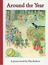 Around the Year NUEVO Rilegato Libro  Elsa Beskow