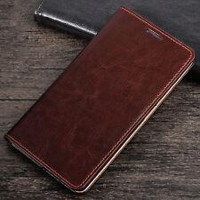 Handy Tasche Echt Leder Für HuaWei Schutz Hülle Flip Wallet Case Cover Bumper