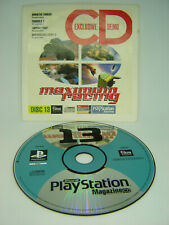 OFFICIAL UK PS1 PLAYSTATION 1 MAGAZINE CD DEMO DISC 13 MONSTER TRUCKS WIPEOUT
