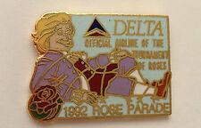 "1992 DELTA AIRLINES ""TOURNAMENT OF ROSES PARADE"" SOUVENIR LAPEL PIN"