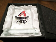 ARIZONA DIAMONDBACKS MVP CRYSTAL Paper Weight Satin Display Box Great Gift Item