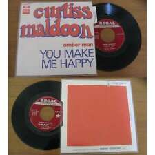 CURTISS MALDOON - Amber Man Rare French PS Psych Prog DEEP PURPLE 71 W/Languette