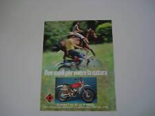 advertising Pubblicità 1975 CIMATTI KAIMAN TRIAL 50
