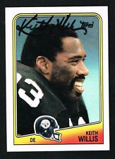 Keith Willis 1988 Topps Football #170 signed autograph auto Trading Card