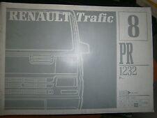 Renault TRAFIC propulsion : catalogue pièces PR1232-8