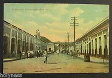 ANTIQUE POSTCARD / EL MERCADO PONCE PORTO RICO / PUERTO RICO 1911
