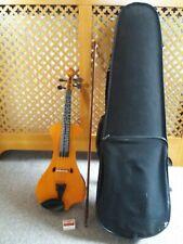 Electric Violin 4/4 hindersine HEV2 avec étui, Bow, Épaule Repos & de colophane