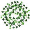 Artificielles Plantes feuille de lierre Vigne Feuillage Decoration WT