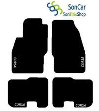 OPEL Corsa d von 06 ab zugeschnittene Autoteppiche Matten + 4blok +